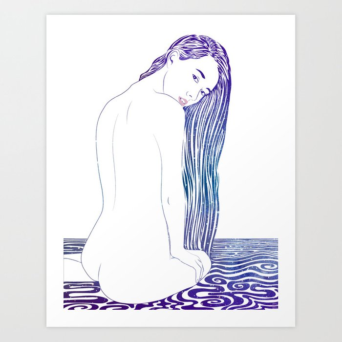 Water Nymph XX Art Print