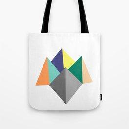 Paku Paku, original colours on white Tote Bag