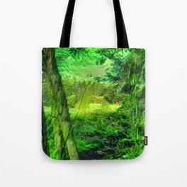 Temperate Jungle Home Tote Bag