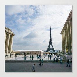 Place du Trocadero Canvas Print