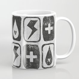 For the love of thunderstorms (light) Coffee Mug