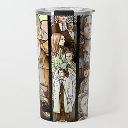 Supernatural Stained Glass Travel Mug