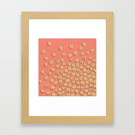 microrobots Framed Art Print