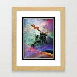 Rainbow Mist Framed Art Print