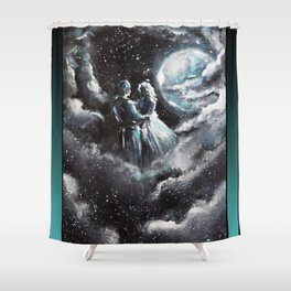 Dancing Amongst the Stars Shower Curtain