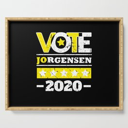 Jo Jorgensen 2020 For President Vote Shirt Serving Tray