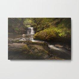 Sgydau Sychryd waterfalls Metal Print