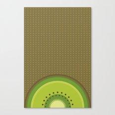 Kiwi Pop Canvas Print