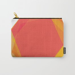 Summery Hexagons Carry-All Pouch