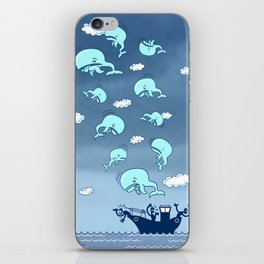 Where Have the Whales Gone? iPhone Skin