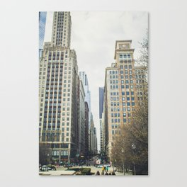 Chicago street Canvas Print