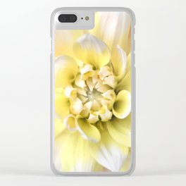 Dahlia in Bloom Clear iPhone Case