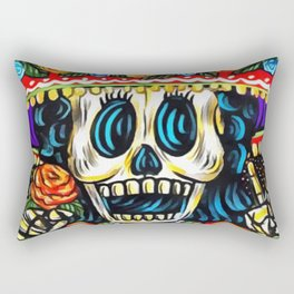 Buenos Dias Rectangular Pillow