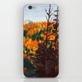 Forest Invermere by Dennis Weber of ShreddyStudio iPhone Skin