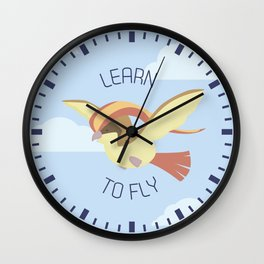 Pidgeot  learn to fly Wall Clock