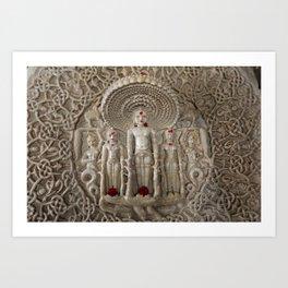 Ranakpur - India - Buddha Art Print