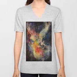 Deer constellation Unisex V-Neck
