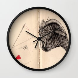 Red Thread Wall Clock
