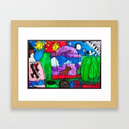 Park City, Utah Framed Art Print