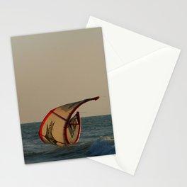 Kitesurfer Down Mandrem Stationery Cards