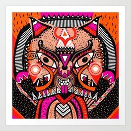 LISHKA PINK Art Print