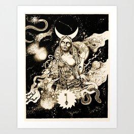 Tiamat Art Print