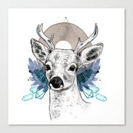 The Deer (Spirit Animal) Canvas Print