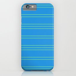 Simple Lines Pattern bt iPhone Case