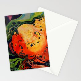 RED CORAL Stationery Cards