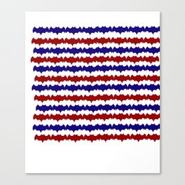 Bat'Merica  Canvas Print