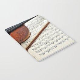 Old violin Notebook