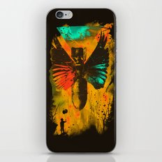 No More Trouble iPhone & iPod Skin