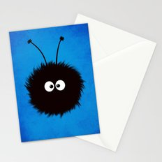 Blue Cute Dazzled Bug Stationery Cards