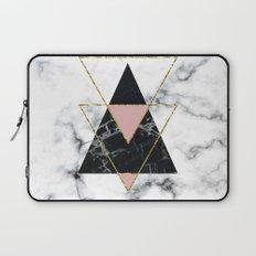 Geo glam marble Laptop Sleeve