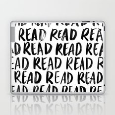 Read, Read, Read (White) Laptop & iPad Skin