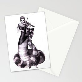 First Violin Stationery Cards