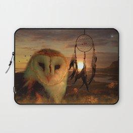Dream Catcher and Magic Owl Laptop Sleeve