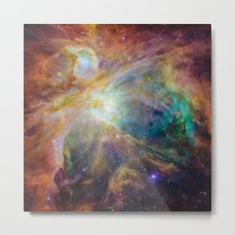 View of Orion Nebula Metal Print
