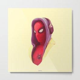 Spider Homie Metal Print