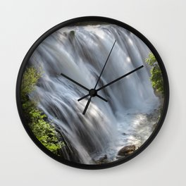 The waterfalls Wall Clock