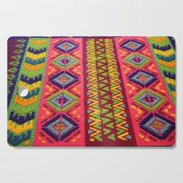 Colorful Guatemalan Alfombra Cutting Board