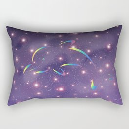 Dolphin in Universe_G02 Rectangular Pillow