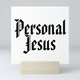 PERSONAL JESUS Mini Art Print