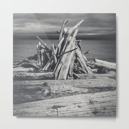 Bonfire Metal Print