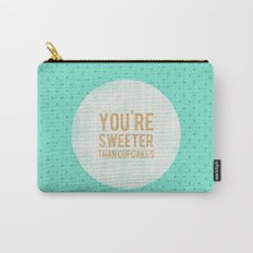 You're sweeter than cupcakes Carry-All Pouch
