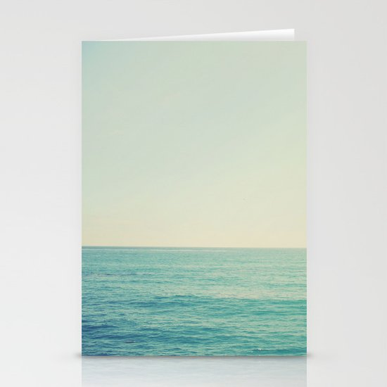 California Ocean Stationery Cards