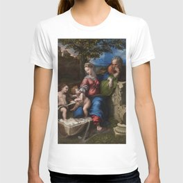 "Raffaello Sanzio da Urbino ""The Holy Family below the oak"", 1518 T-shirt"
