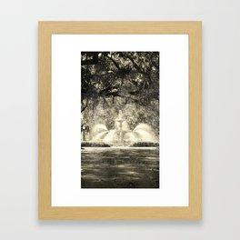 Savannah Flea Market Framed Art Print