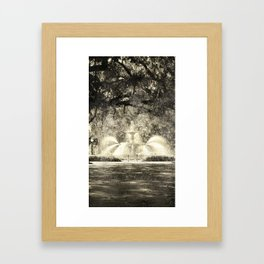 Savannah Flea Market Framed Art Print