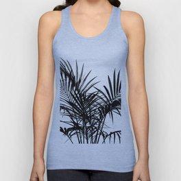 Little palm tree in black Unisex Tank Top